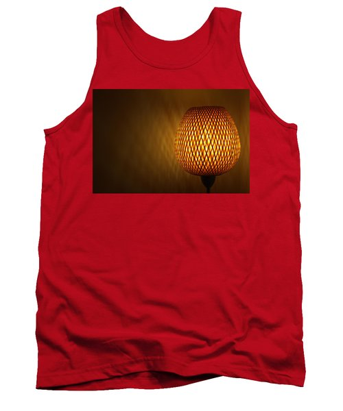 Tank Top featuring the photograph Lamp by RKAB Works