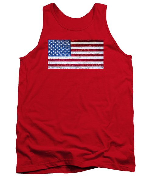 Land Of The Free Tank Top by David Millenheft
