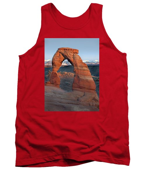Last Light On Delicate Arch  Tank Top