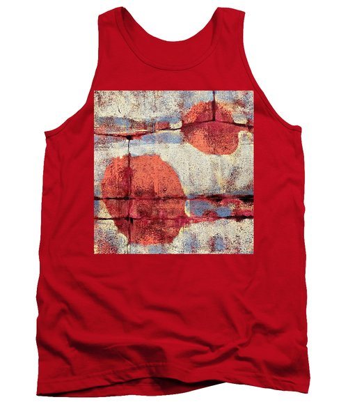 Tank Top featuring the painting Latent Connections by Maria Huntley