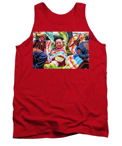 Latino Street Festival Dancers Tank Top