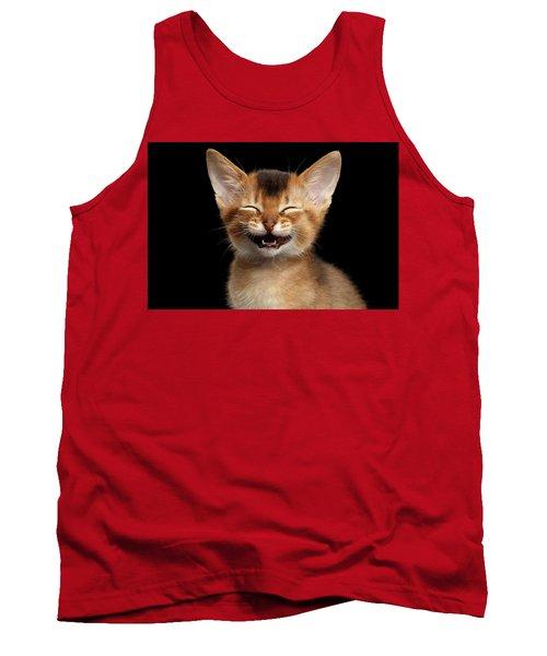Laughing Kitten  Tank Top