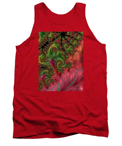 Tank Top featuring the photograph Leaf And Lace by Ronda Broatch