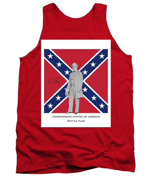 Lee Battleflag Tank Top