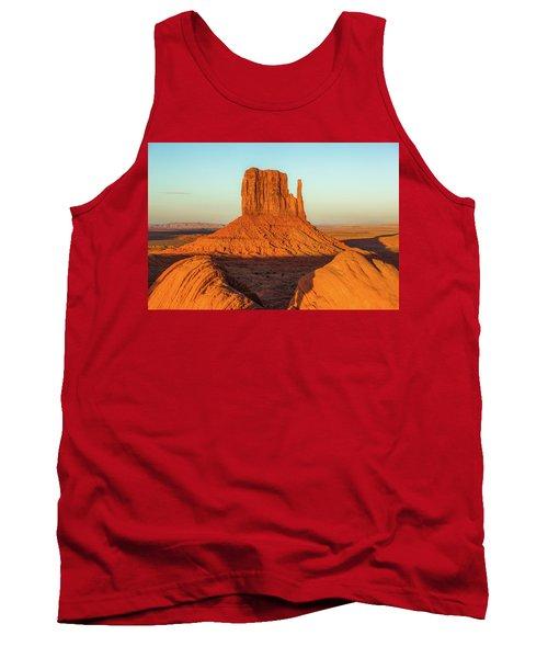 Left Mitten Sunset - Monument Valley Tank Top