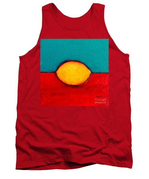 Tank Top featuring the photograph Lemon by Fred Wilson