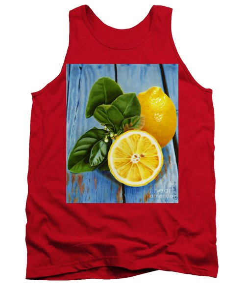 Lemon Fresh Tank Top
