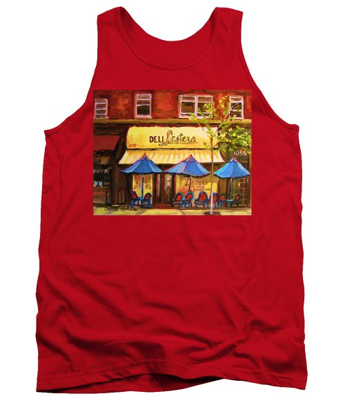 Lesters Cafe Tank Top