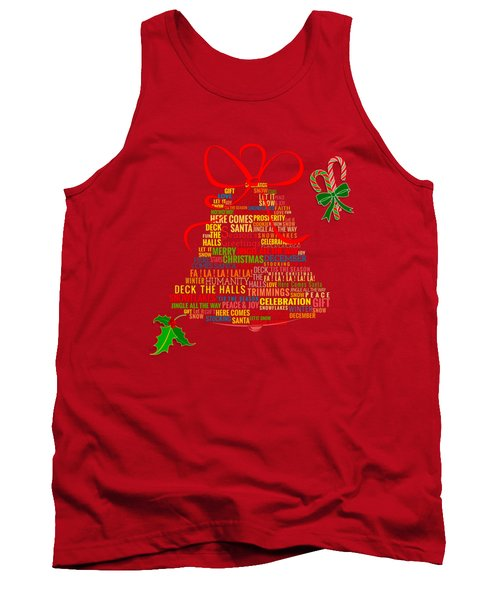 Let It Ring Words Tank Top