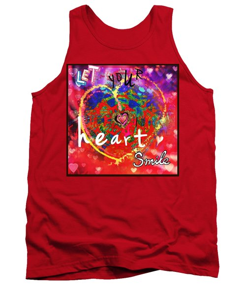 Let Your Heart Smile Tank Top