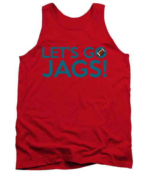 Let's Go Jags Tank Top