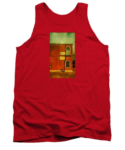 Tank Top featuring the photograph Lido Lion by Anne Kotan