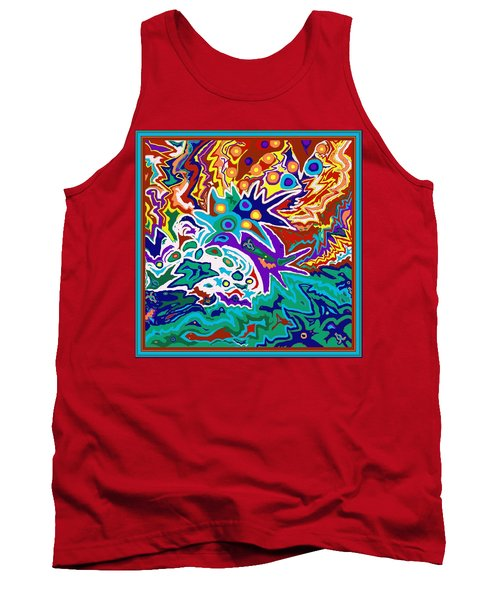 Life Ignition Option 2 With Borders Tank Top