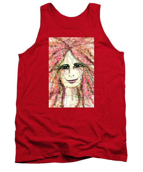Life Is Now Tank Top by Sladjana Lazarevic
