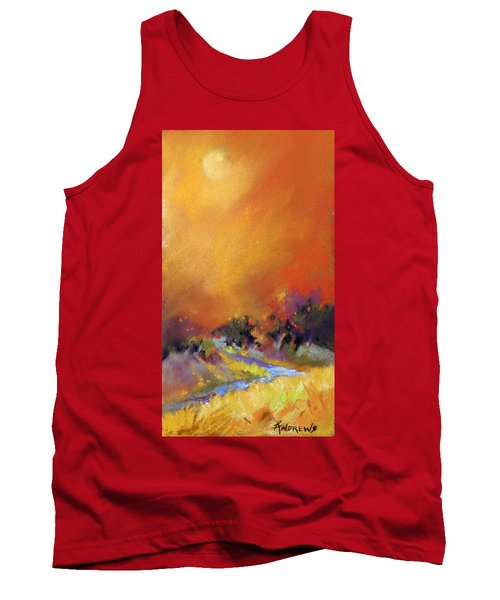 Tank Top featuring the painting Light Dance by Rae Andrews