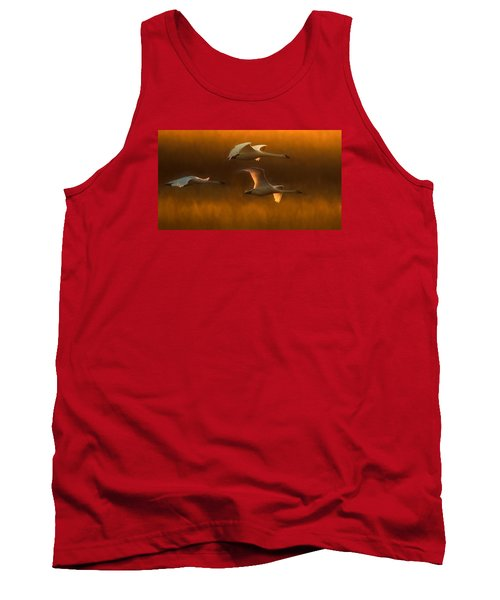 Tank Top featuring the painting Light by Kelly Marquardt