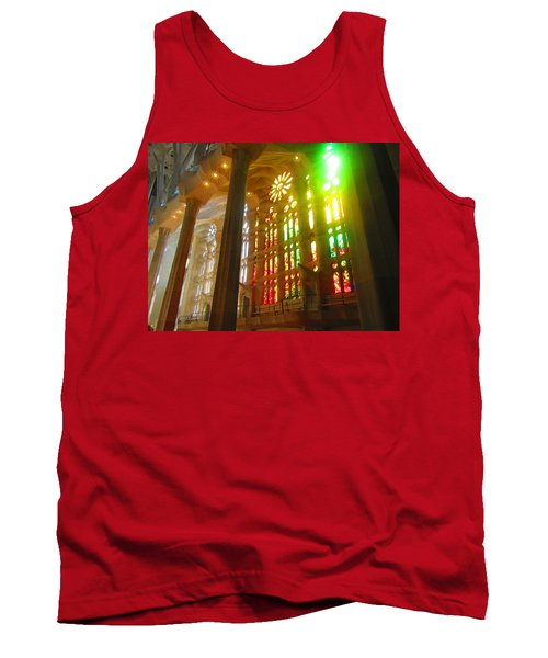 Tank Top featuring the photograph Light Of Gaudi by Christin Brodie