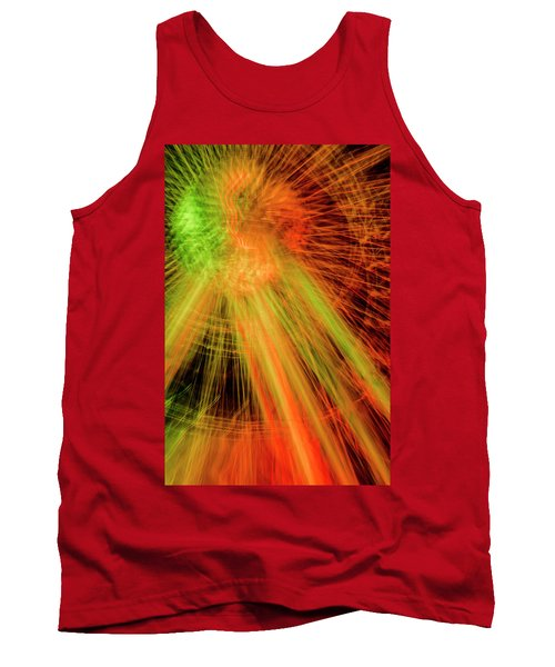 Light Painting At Night Tank Top