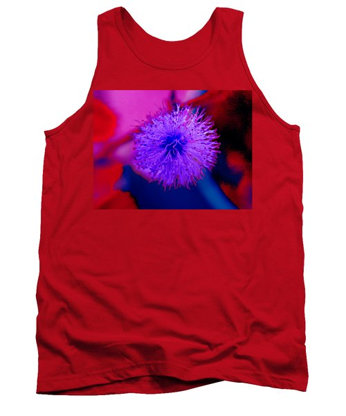 Light Purple Puff Explosion Tank Top by Samantha Thome