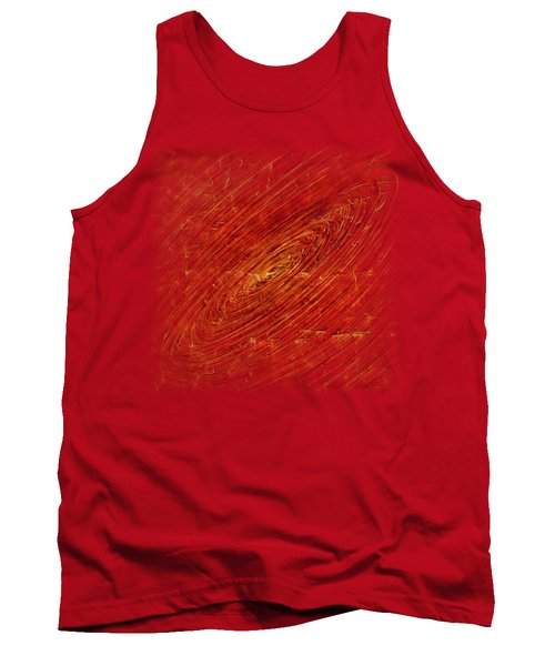 Tank Top featuring the mixed media Light Years by Sami Tiainen