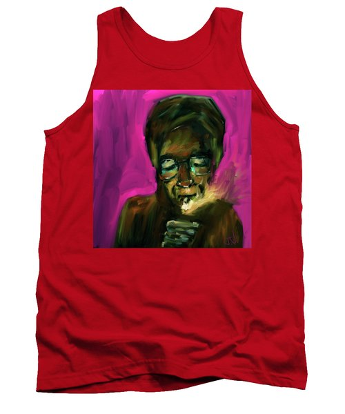Lighting Up Tank Top by Jim Vance