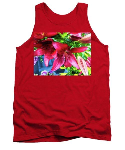 Lilies Tank Top