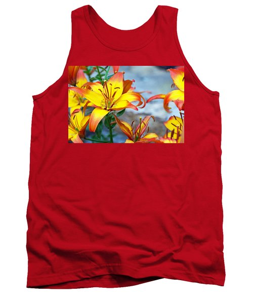 Lilies Of The Field #1 Tank Top