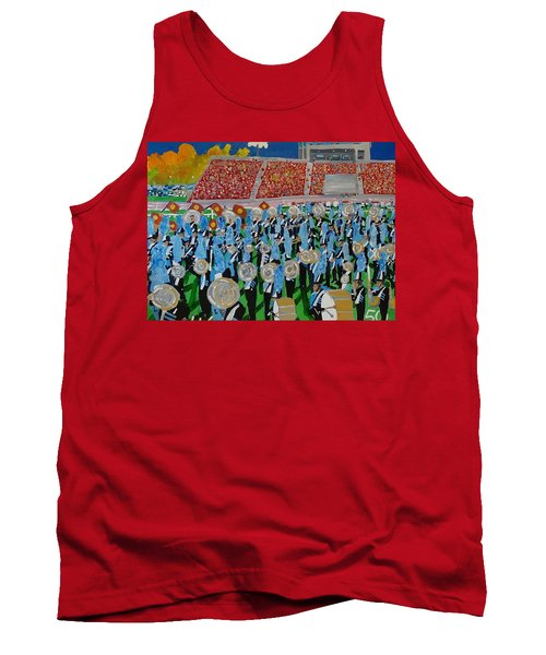Lincoln Band Tank Top by Rodger Ellingson