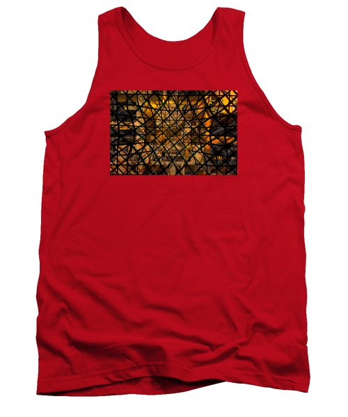 Linear Contingency Tank Top by Don Gradner