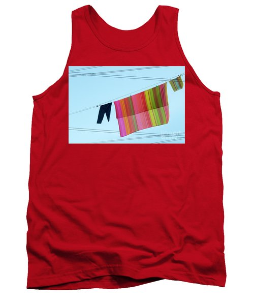 Lines In The Sky Tank Top by Ana Mireles