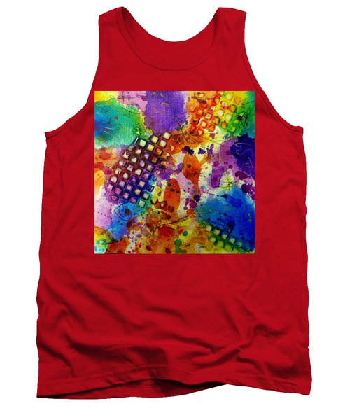Lion For A Day Tank Top by Tracy Bonin