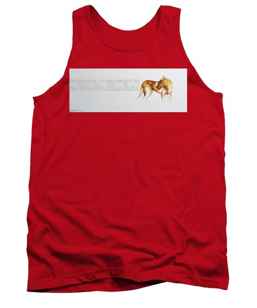 Lioness And Wildebeest Tank Top