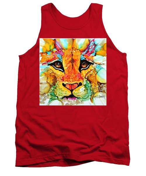 Lion's Head Gold Tank Top