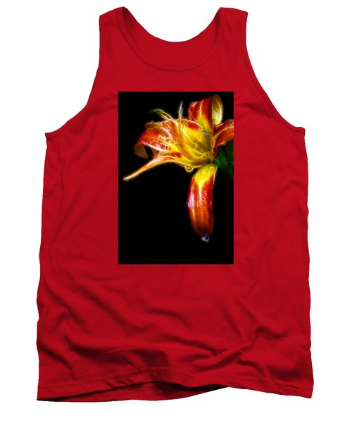 Tank Top featuring the photograph Liquid Lily by Cameron Wood