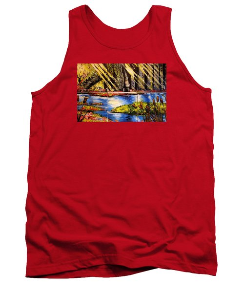 Lisas Neck Of The Woods Tank Top by Alexandria Weaselwise Busen