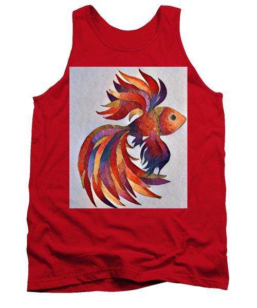 Little Fish Tank Top by Megan Walsh