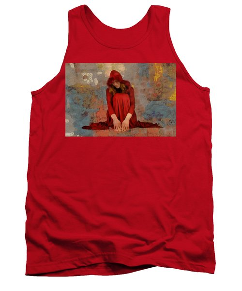 Little Mel Riding Hood Tank Top by Trish Tritz