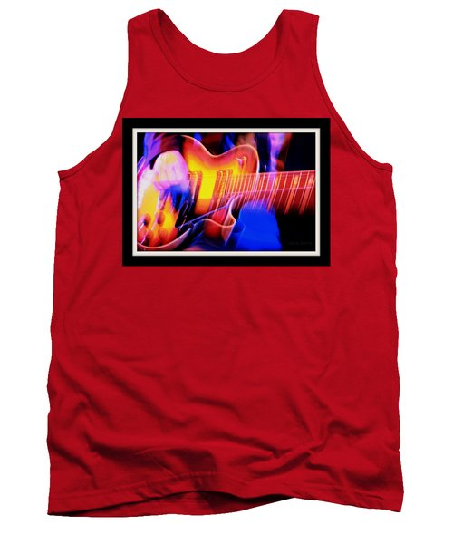 Tank Top featuring the photograph Live Music by Chris Berry