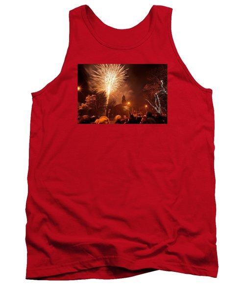 Llanelli Fireworks Tank Top