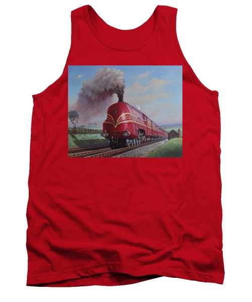 Lms Stanier Pacific Tank Top by Mike  Jeffries