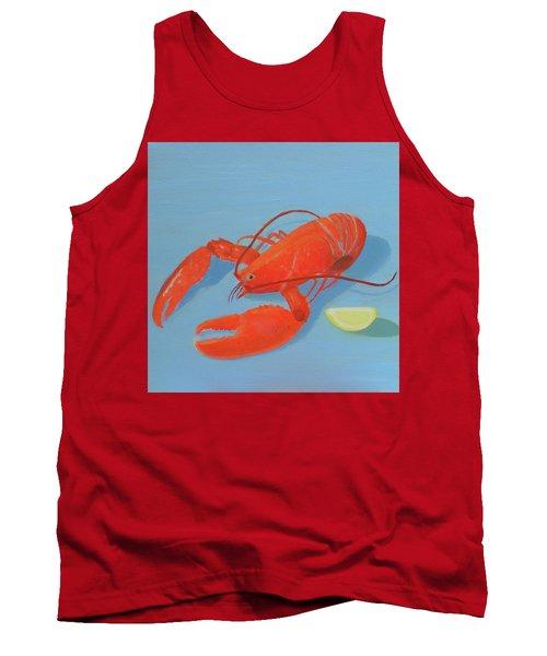 Lobster And Lemon Tank Top