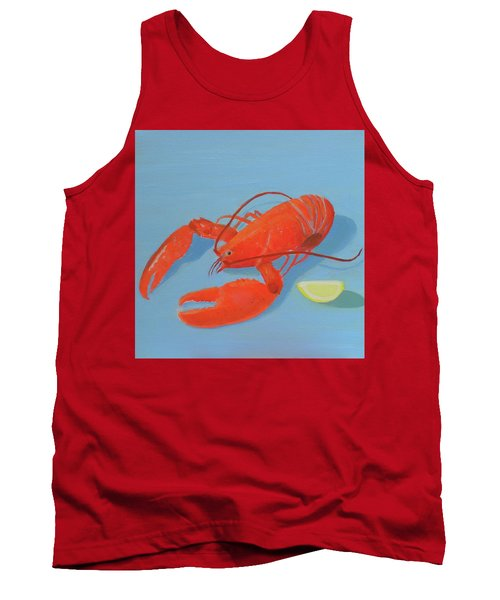 Lobster And Lemon Tank Top