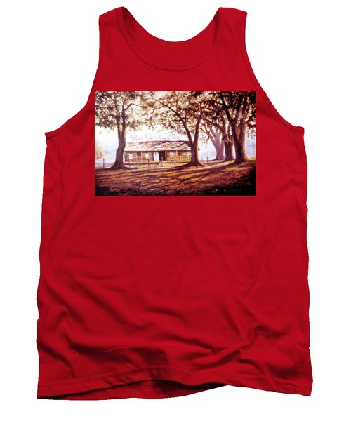 Log House On 421 Tank Top