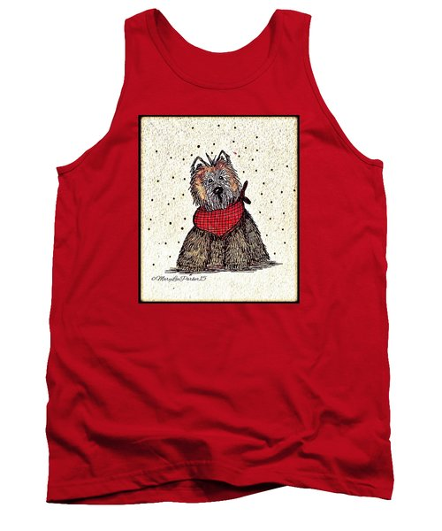Lola The Dog Tank Top by MaryLee Parker