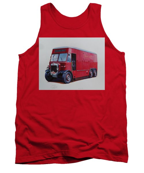 Tank Top featuring the painting London Transport Wrecker. by Mike Jeffries