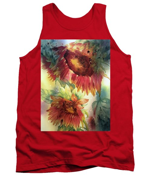 Look On The Sunny Side Tank Top
