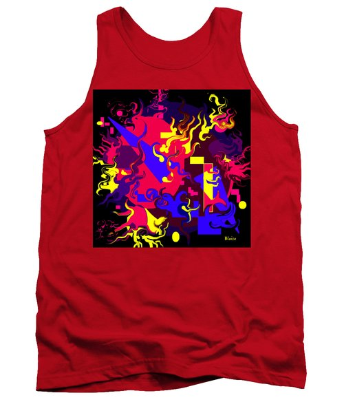 Loss Of Equilibrium Tank Top by Yvonne Blasy