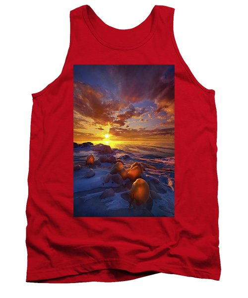 Tank Top featuring the photograph Lost Titles, Forgotten Rhymes by Phil Koch