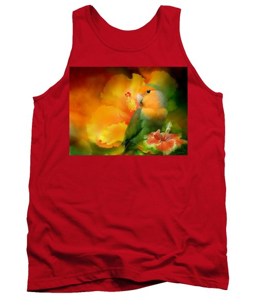 Love Among The Hibiscus Tank Top