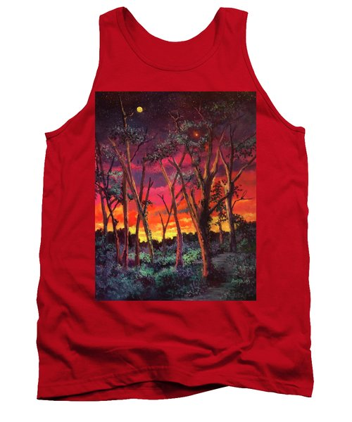 Love And The Evening Star Tank Top